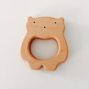 anneau de dentition en bois