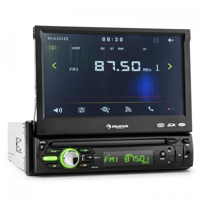 autoradio bluetooth écran tactile