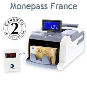 Compteuse de billets MP1188 de Monepass