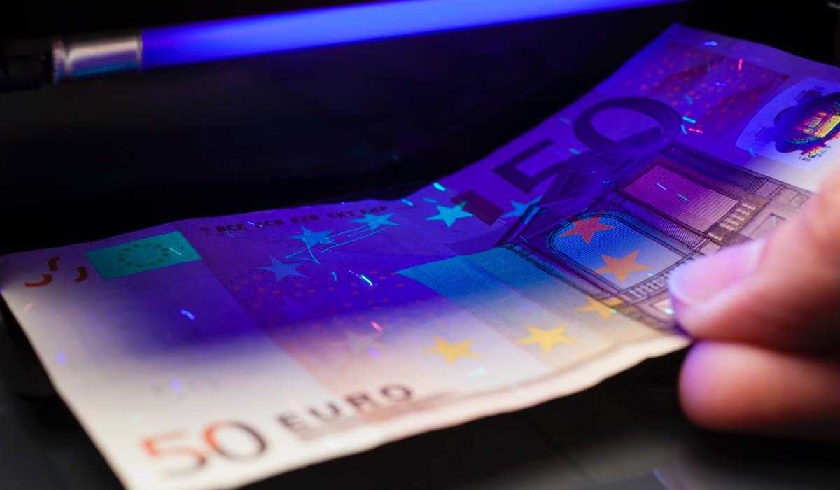 machine détection faux billets