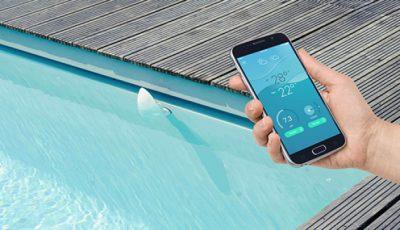 piscine connectée